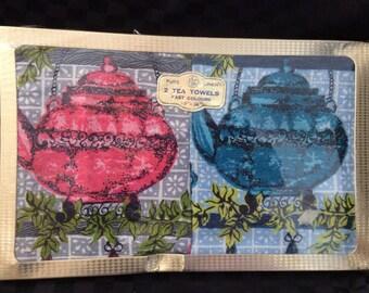 Pure Linen Boxed Tea Towels