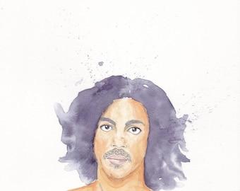 A4 Prince Illustration Print