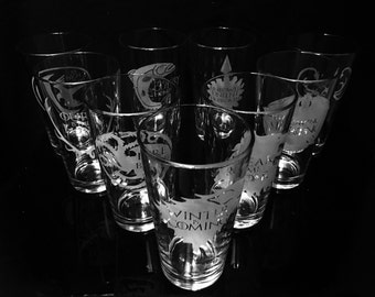 Game of Thrones Pint Glass- Choice of 6