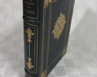 Walden or Life in the Woods - Henry David Thoreau -  A Limited Edition, 1983, Franklin Mint Co.  The Franklin Library - Near Mint
