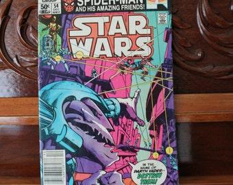 Star Wars Volume 1 No 54 December 1981, Marvel Comics Group, Vintage Comic Book