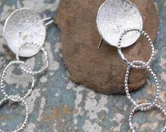 Dangle earrings,Silver 925 earrings,Boho,Ethnic earrings,Hippie Style,Bohemian,Silver Jewelry,Bohemian Jewelry,Gift for her,Ready to ship