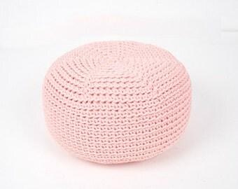 Light Pink Pouf Etsy
