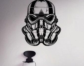 Stormtrooper Helmet Etsy - Helmet custom vinyl stickers
