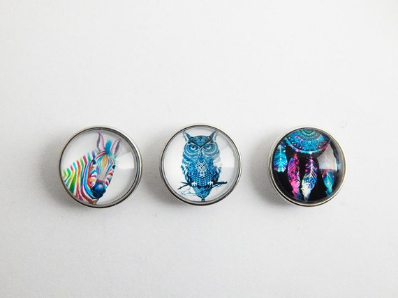 items similar to zebra snap charms owl snap buttons