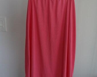 1940s vintage pink skirt slip