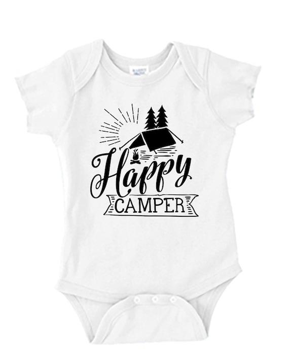 Happy Camper - Baby Onesie