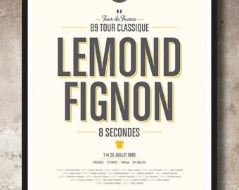 89 Tour de France - 8 Seconds