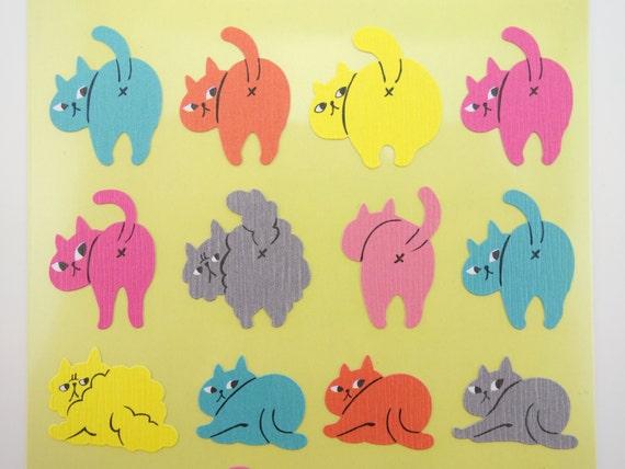 Cat Butt Stickers 42