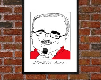 Badly Drawn Kenneth Bone - Politics Poster