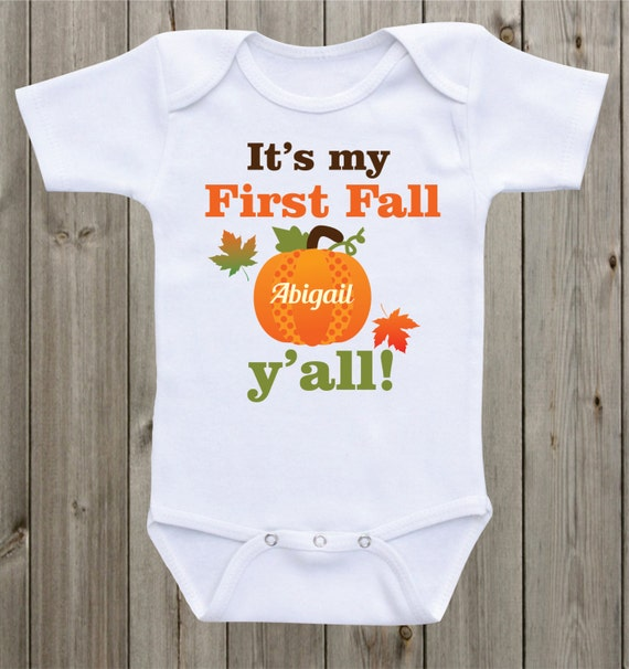 it 39 s my first fall baby onesie newborn outfit fall shirt baby shirt