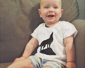 Howlin' for you! Coyote Baby shirt