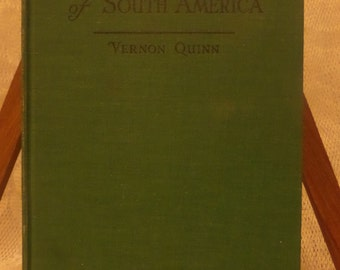 Picture Map Geography of South America by Vernon Quinn 1941