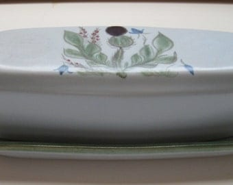 Buchan Thistleware 1/4 Lb Covered Butter Dish