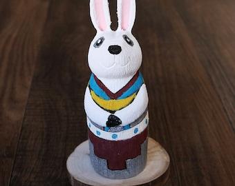 native american,navajo,native,native american art,folk art,Native American Folk Art,rabbit,navajo folk art,folk art, Navajo Folk Art Rabbit
