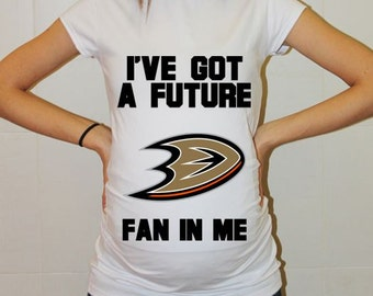 Anaheim Ducks Baby Dallas Anaheim Ducks Baby Boy Baby Girl Maternity Shirt Maternity Clothing Pregnancy New Baby Shower