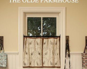 Olde, Farmhouse, Vinyl, Wall, Decal, Home, Decor, Country, Primitive, Entryway, Kitchen, Living room