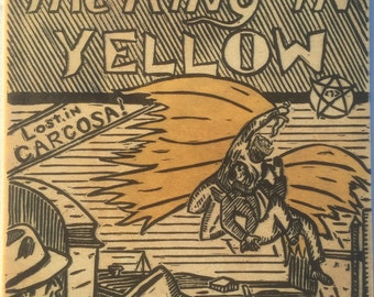 The Hero We Deserve - Lovecraft King in Yellow Blockprint