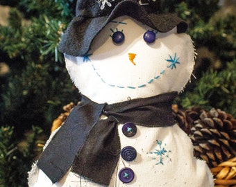 Handmade Snowman, Christmas Decor, Snowman Decor, Holiday Decor, Christmas Snowman, Frosty, Unique Snowman,  Christmas Gifts, Unique Gift
