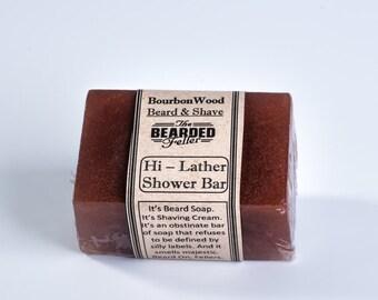 Hi-Lather Beard, Shaving, & Shower Soap