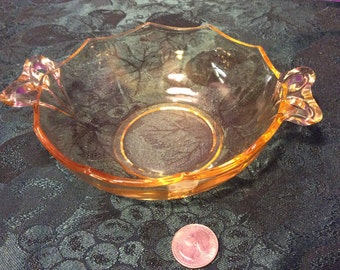 Fosteria Topaz Bow Handled Dish