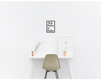 Affirmation Wall Vinyl Decal  / Wall Mural