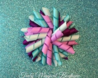 how to make korker hair ties