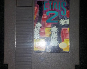 Tetris 2 For regular Nintendo Nes