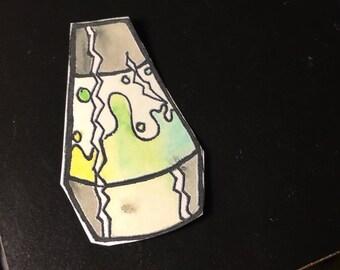 Lava lamp sticker
