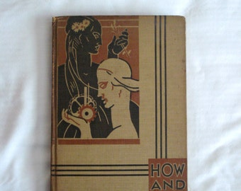 Rare HOW AND WHY Library 1934 Vintage Book 3 My Knowledge - Eleanor Atkinson Children's Encyclopedia Volume