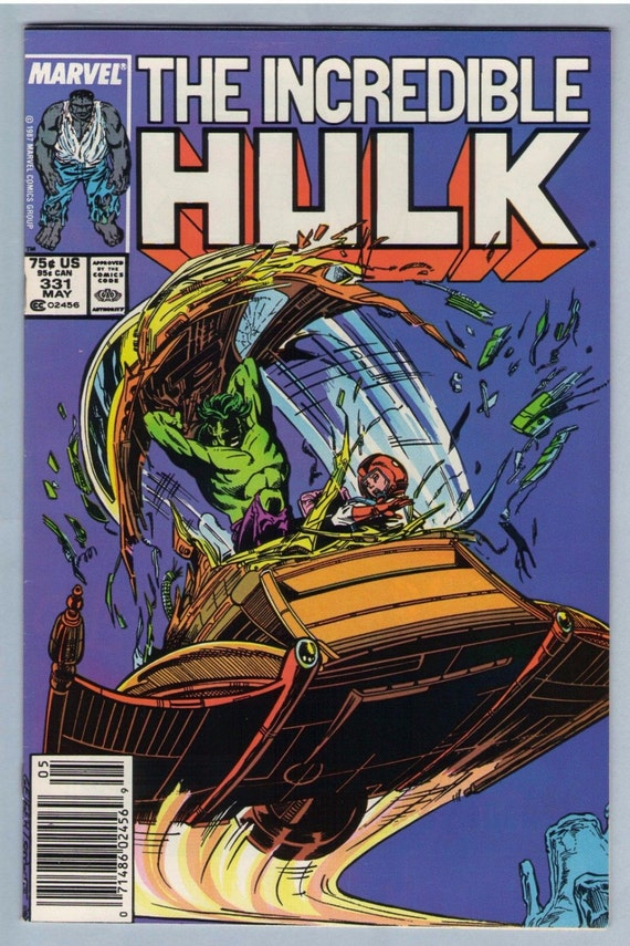 Incredible Hulk 331 May 1987 VF-NM (9.0)