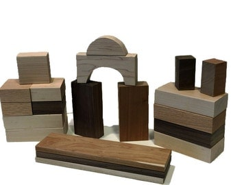 Mixed Hardwood Block Set