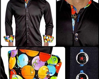 Birthday Themed Active Collection Dress Shirt - Made in USA