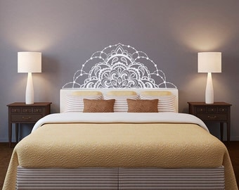 Mandala Wall Decal Etsy - Vinyl decals for walls etsy