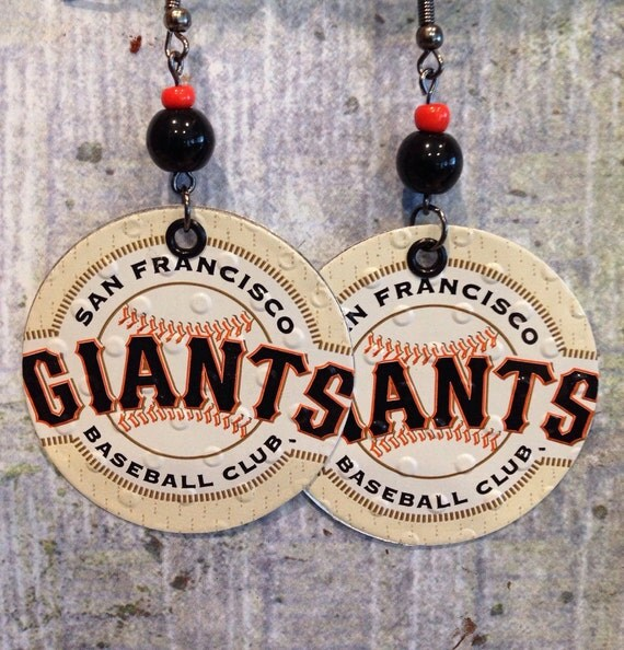 Up cycled san francisco giants beer can by ncsustainablestyle for Craft beer san francisco