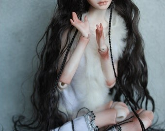 "Porcelain BJD Ball jointed doll ""Tuskulaana"" by Olesya Kudryashova."