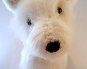 West Highland Terrier - Crocheted Dog