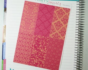 WSH-FRTPCH // Fruit Punch Washi Planner Stickers