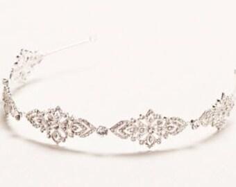 Bridal Headpiece, Bridal Headband, Wedding Headpiece, Wedding Headband, Rhinestone Headband, Hair Accessories, Tiara, Crystal headband,