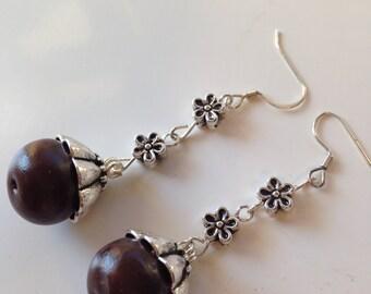 Beads earring