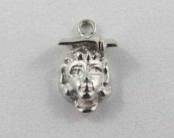 Graduate Sterling Silver Vintage Charm For Bracelet