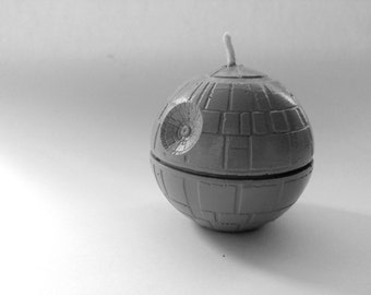 Death Star Candle - Star Wars Candles - Sci-Fi Gift