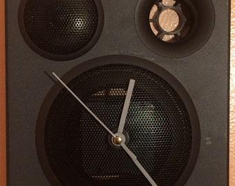 Mini-speaker Wall Clock - Conclocktion