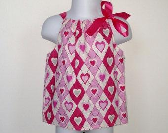Valentine's Day heart Pillowcase Dress