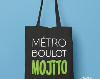 Metro job Mojito cotton shopping bag thick fair trade