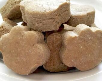 Grain-Free Peanut Butter Organic Dog Treats~Grain Free Dog Treat, Gluten Free, All Natural, Gourmet Dog Treats~Dog Biscuit