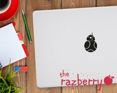 Star Wars Macbook Decal BB8 Decal BB8 Sticker BB8 Macbook Decal Macbook Sticker Star Wars the Force Awakens Macbook Decal Macbook Sticker