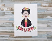 Frida Kahlo Illustration Print