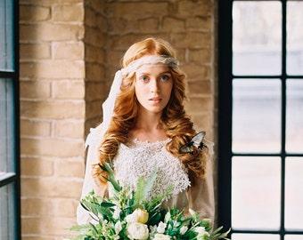 Bohemian headband, Boho bride, Bridal crown, bohemian bridal headpiece, Bridal headpiece, Wedding headpiece, Weddings