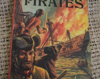 A Ladybird Book About Pirates. Children's History Book. First Edition. 1970